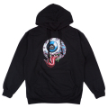 LAMOUR VENOMOUS KEEP WATCH PULLOVER HOODIE (BLACK/FL171131POBLK)