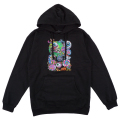 LAMOUR CYCO COLLAGE PULLOVER HOODIE (BLACK/FL171134POBLK)