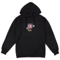 LAMOUR LADY KEEP WATCH PULLOVER HOODIE (BLACK/FL171137PO)