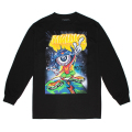 LAMOUR MISHKA THE MARTIAN L/S TEE (BLACK/FW181302LS)