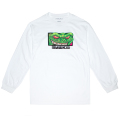 LAMOUR REPTILIAN L/S TEE (WHITE/FW181303LSWHT)