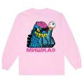 MISHKA 4 LIFE LS TEE (PINK/FW191008LSPNK)