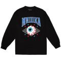 MISHKA ATHLETICS LS TEE (BLACK/FW191010LSBLK)