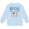 MISHKA ATHLETICS LS TEE (BLUE/FW191010LSBLU)