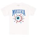 MISHKA ATHLETICS TEE (WHITE/FW191010WHT)