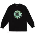 OVERSPRAY KEEP WATCH LS TEE (BLACK/FW191011LSBLK)