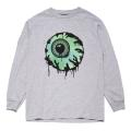 OVERSPRAY KEEP WATCH LS TEE (H.GREY/FW191011LSGRY)