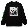 KEEP WATCH LOCKUP LS TEE (BLACK/FW191014LSBLK)