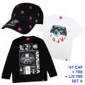 '47コラボCAP+Tシャツ+ロンTセットA (GW21SET1A)