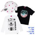 '47コラボCAP+Tシャツ+ロンTセットB (GW21SET1B)