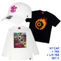 '47コラボCAP+Tシャツ+ロンTセットC (GW21SET1C)