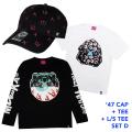 '47コラボCAP+Tシャツ+ロンTセットD (GW21SET1D)