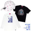 '47コラボCAP+Tシャツ+ロンTセットE (GW21SET1E)