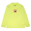 MOCK-NECK BOX K.W L/S TEE (L.GREEN/M21000056GRN)