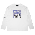 HOBO POEM L/S TEE (WHITE/M21000062WHT)