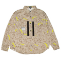SAND CAMO BUTTON UP SHIRT (M21000206)