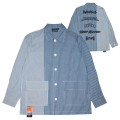 SWITCHING STRIPE SHIRT (BLUE/M21000252)
