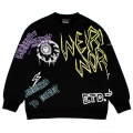 GRAFF OVERSIZED CREWNECK (BLACK/M21000414BLK)