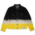 BEARMOP BLANK WAVE DENIM JACKET (BLACK/M21000511)