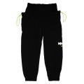 NYLON STRETCH PANTS (BLACK/M21000820BLK)