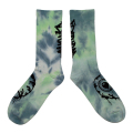 TIE-DYE CRUSHER SOCKS (L.GREEN/M21003353GRN)