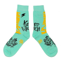 BEARMOP BOULEVARD SOCKS (L.GREEN/M21003354GRN)