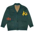 MELTING K.W KNIT CARDIGAN (D.GREEN/M61000352GRN)