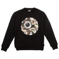GUNSHOT KEEP WATCH CREWNECK (BLACK/MAW170413)