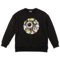 LAMOUR ENDLESS BUMMER KEEP WATCH CREWNECK (BLACK/MAW170414)