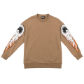 FIRE KEEP WATCH CREWNECK (KHAKI/MAW170422KHK)