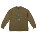 TONAL LAMOUR KEEP WATCH CREWNECK (OLIVE/MAW170428OLV)