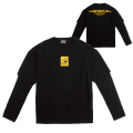 MINI ICON LAYERED L/S TEE (BLACK/MAW180002BLK)