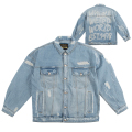 WEIRD WORLD DENIM JACKET (MAW180512)