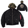CHIMERA ICON FLIGHT JACKET (BLACK/MAW180606BLK)