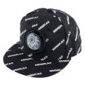 MNWKA LOGO PATTERN CAP (BLACK/MAW183206)