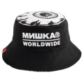 MISHKA UNIVERSE REVERSIBLE BUCKET HAT (BLACK/MAW183223)