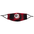 PLAID LAMOUR KEEP WATCH MASK (RED/MAW183407)