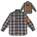 WEIRD WORLD FLANNEL SHIRT (BLACK/MAW190267)