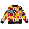 MISHKA REPLACEMENT PUZZLE SWEATER (MULTI/MAW190312)