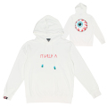 CYRILLIC KEEP WATCH HOODIE (WHITE/MAW190402WHT)