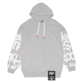 STREET ART PULLOVER HOODIE (GREY/MAW190414GRY)