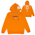 1978 ARTS RECORDS PULLOVER HOODIE (ORANGE/MAW190441ORG)