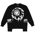 PAINT KEEP WATCH CREW NECK (BLACK/MAW190445BLK)