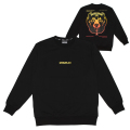 GRADATION DEATH ADDERS CREW NECK (BLACK/MAW190467)