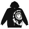 PAINT KEEP WATCH HOODIE (BLACK/MAW190471BLK)