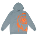 PAINT KEEP WATCH HOODIE (SLATE/MAW190471SLT)