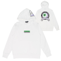 NOW PLAYING PULLOVER HOODIE (WHITE/MAW190482)