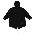 MISHKA BIG POCKET FISH TAIL JACKET (BLACK/MAW190579BLK)