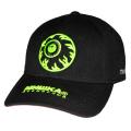 NEON KEEP WATCH STRAPBACK CAP (BLACK/MAW193234BLK)