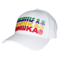 COLORFUL CYRILLIC STRAP BACK CAP (WHITE/MAW193237WHT)